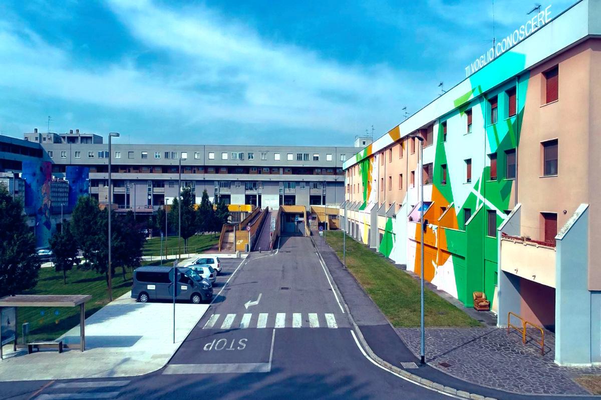 Quartiere Lunetta immortalato da Stefano Sabbadini